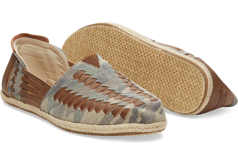 TOMS Classic Alpargata Camo Slip-On Shoe GD2KP