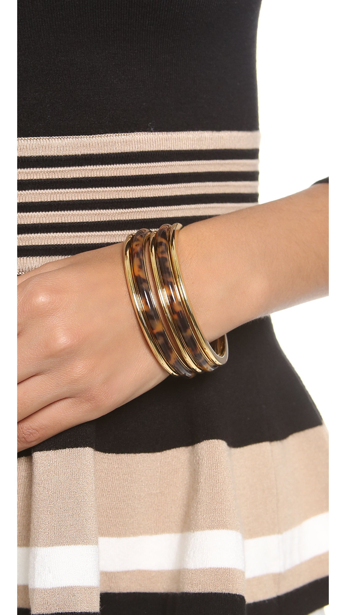 finish agate image embellishments stack products loulia product with vermeil bracelet