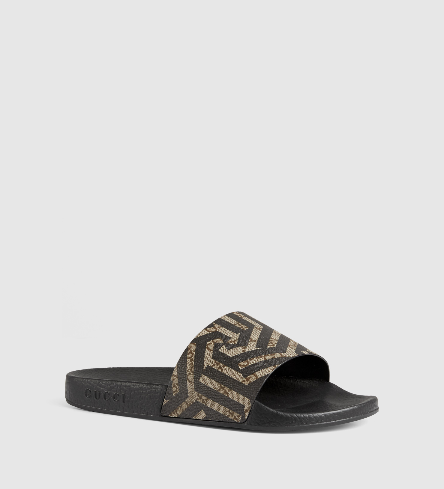97827008b06 Gucci Gg Caleido Sandal in Brown for Men - Lyst