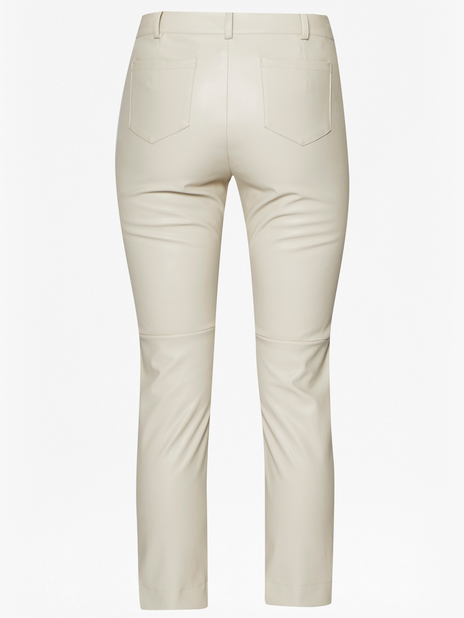 59482b090b9 French Connection Atlantic Pu Cropped Trousers in Gray - Lyst