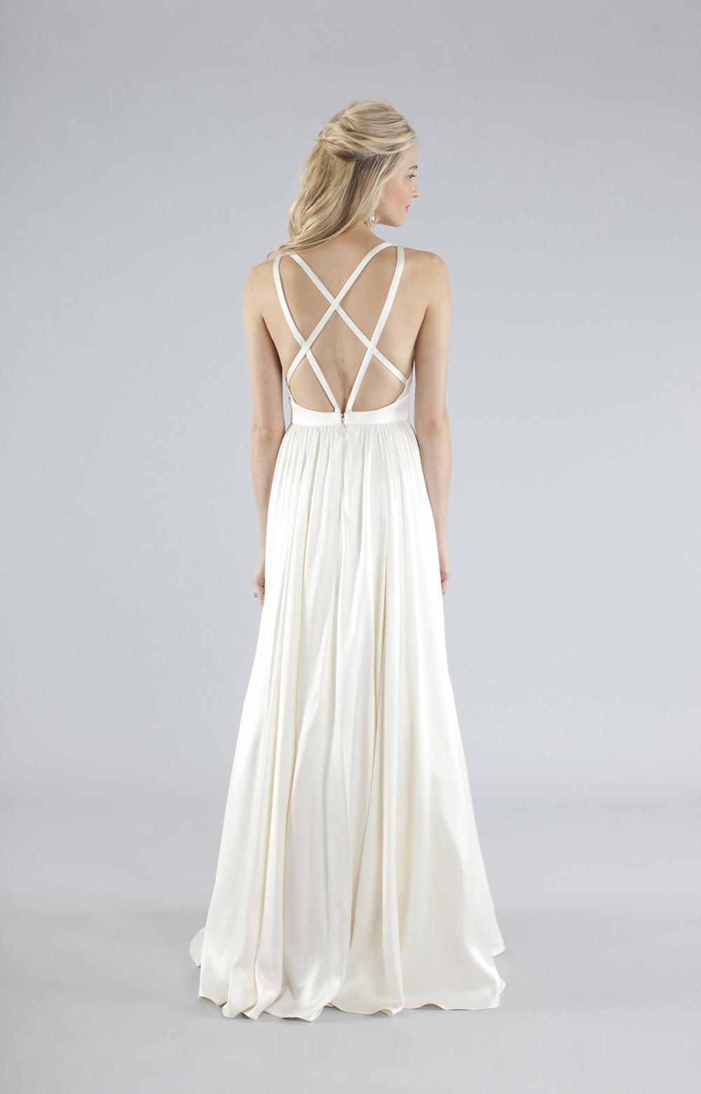 Lyst - Nicole Miller Elizabeth Bridal Gown in White