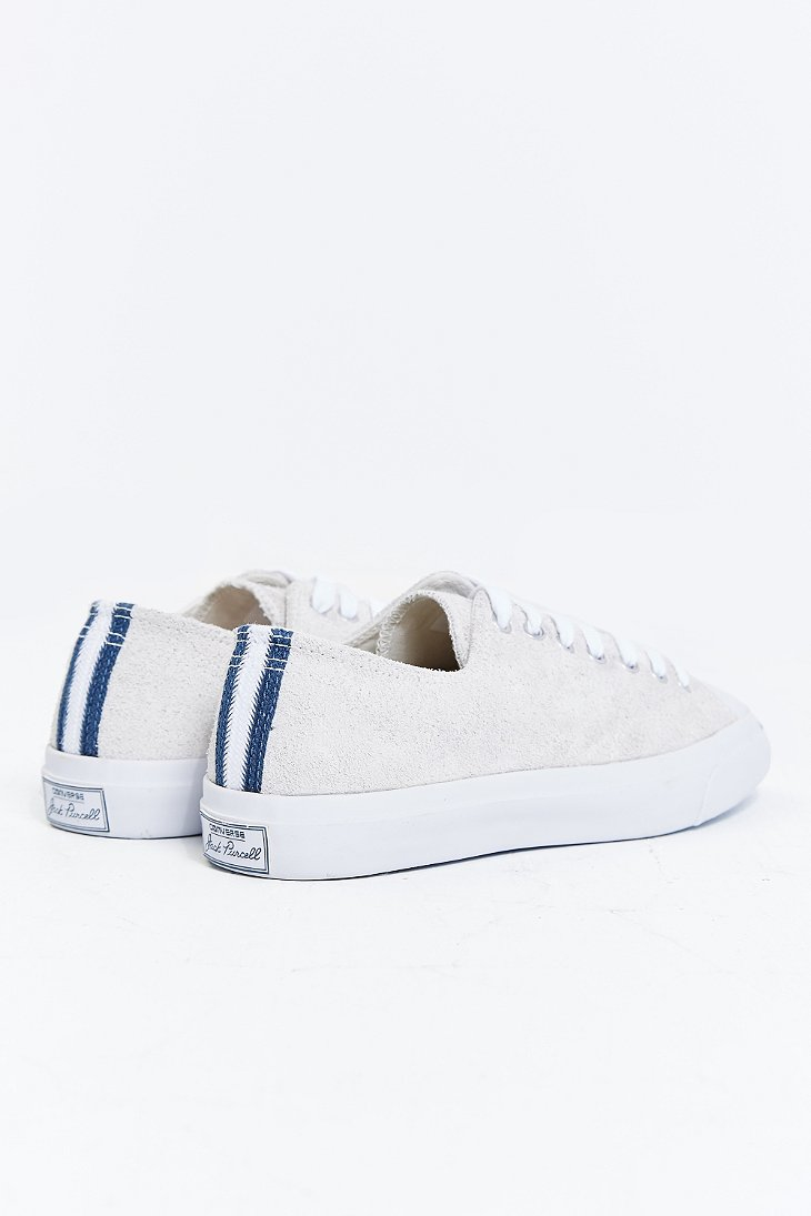 37a258973d8b Lyst - Converse Jack Purcell Suede Sneaker in Natural for Men