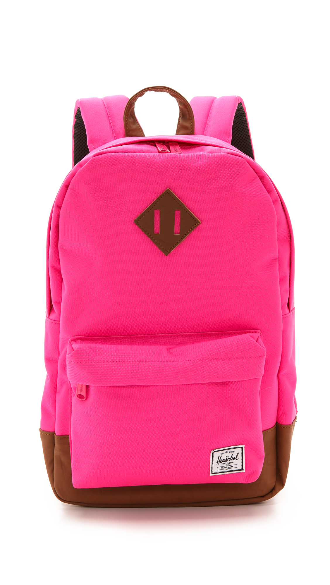 1e134292b89e Herschel Supply Co. Heritage Mid Backpack Neon Pink in Pink - Lyst