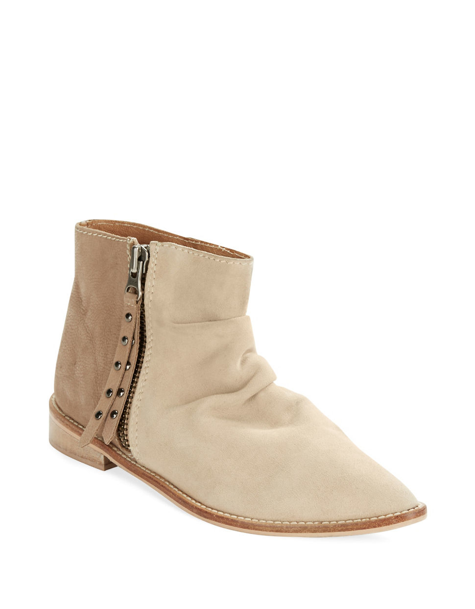 charles by charles david brody suede and leather ankle