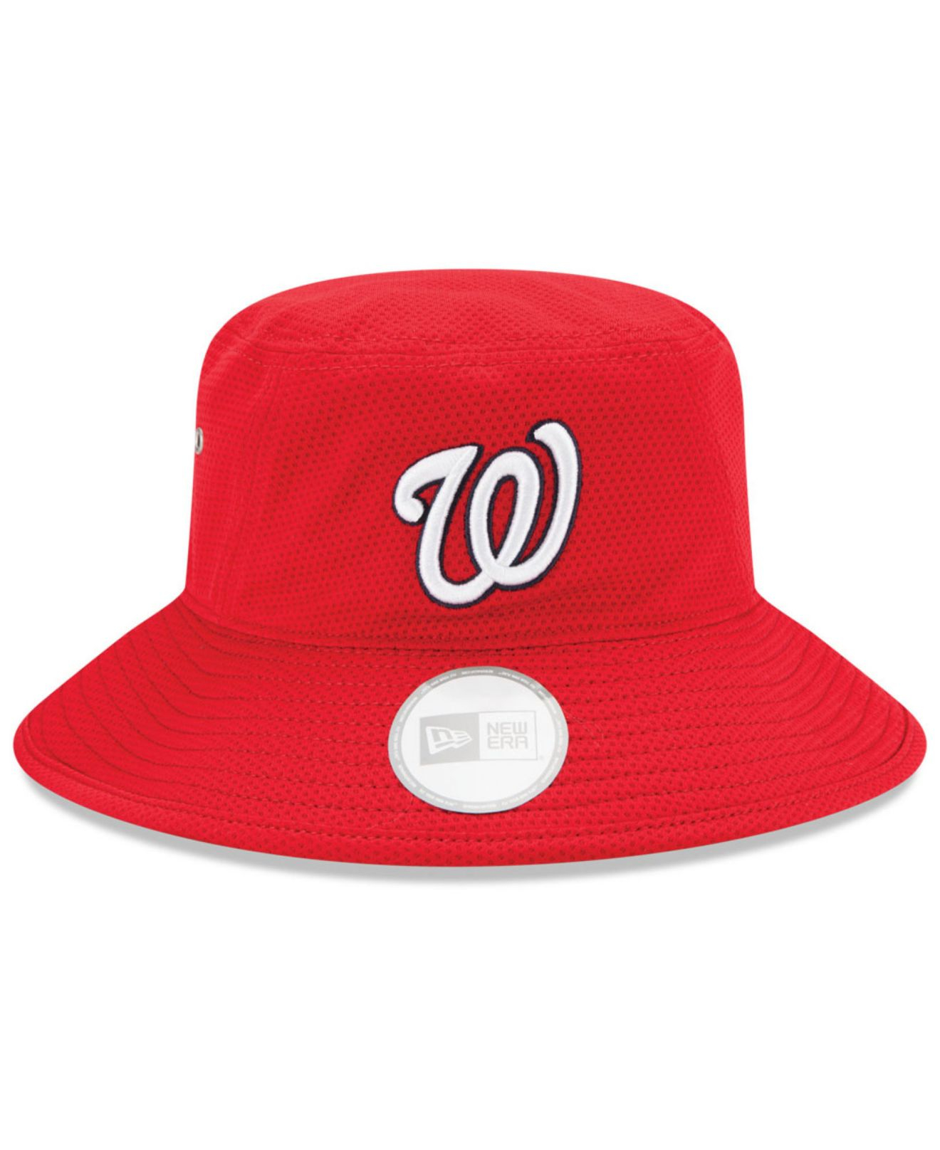 2a56967a3e207 KTZ Washington Nationals Team Redux Bucket Hat in Red for Men - Lyst