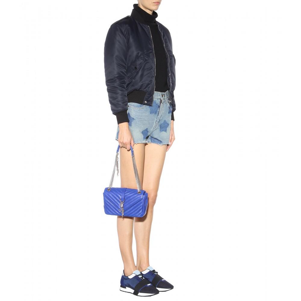 medium Monogram shoulder bag - Blue Saint Laurent XJ0GI