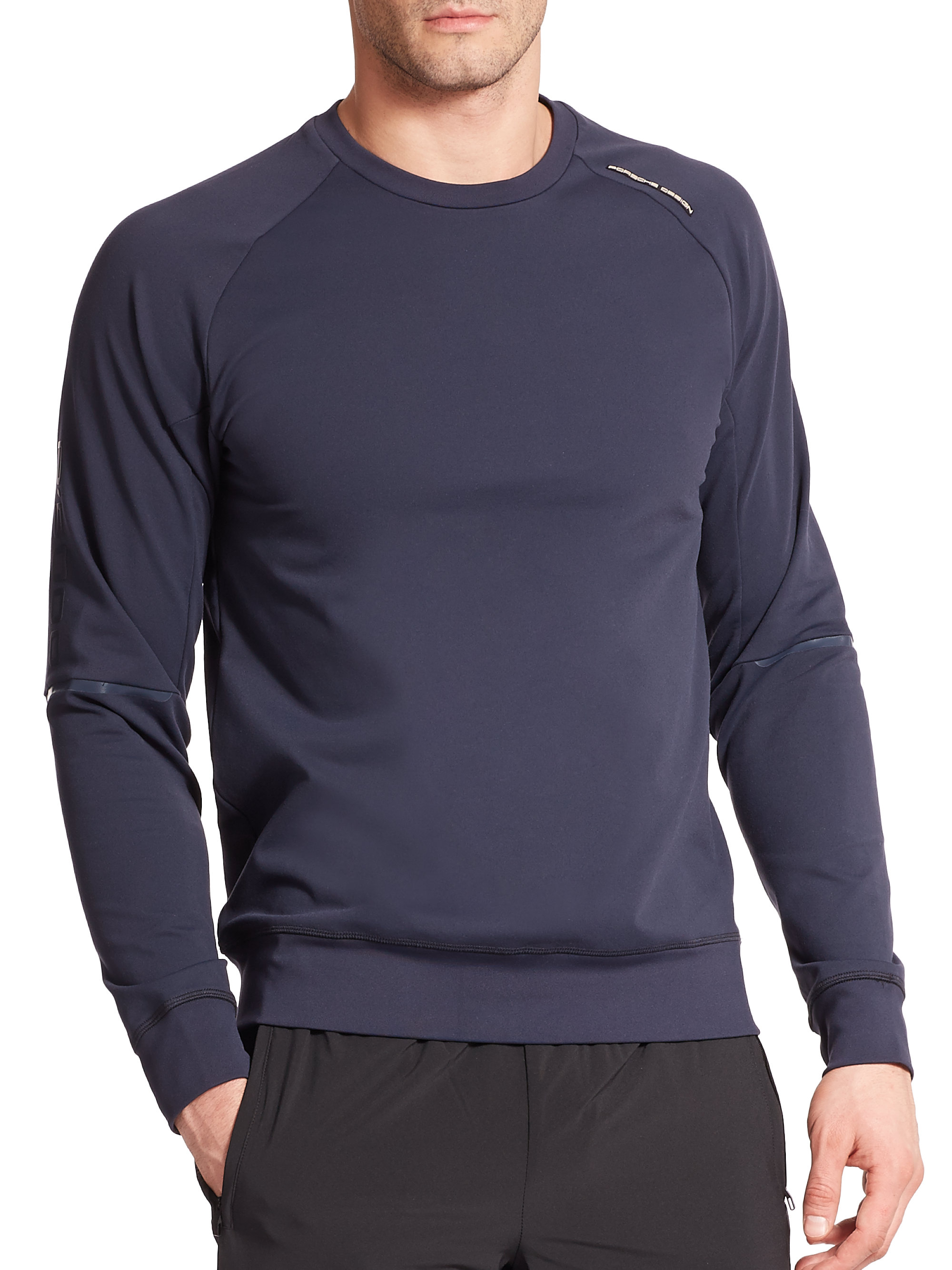 Porsche Design Relax Sweatshirt In Blue For Men Lyst