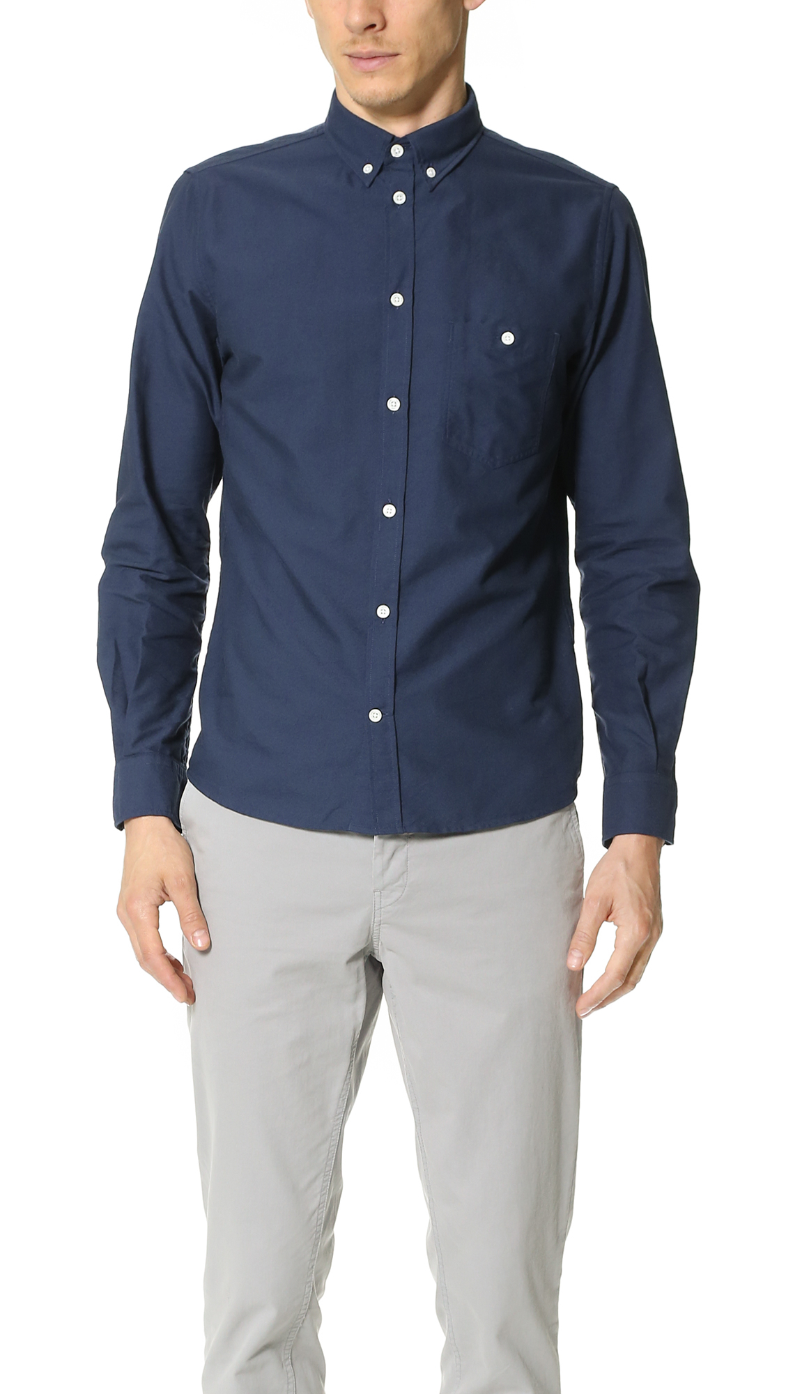 61007e7f Norse Projects Anton Oxford Shirt in Blue for Men - Lyst