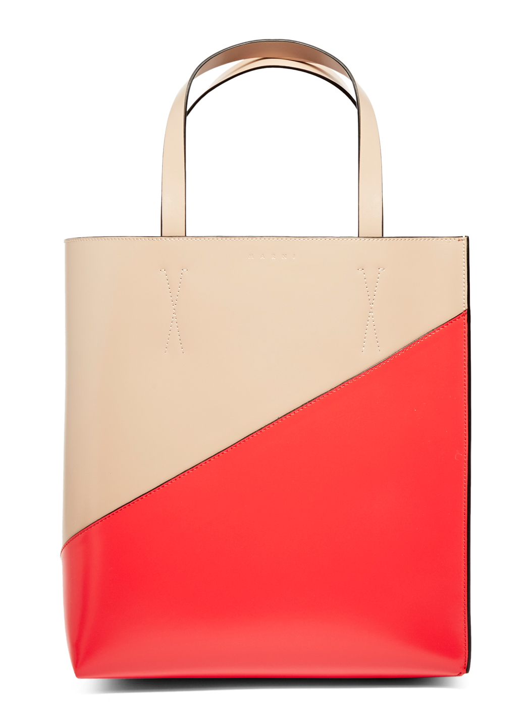 Marni Museo Tote Bag in Natural - Lyst 55b990832d