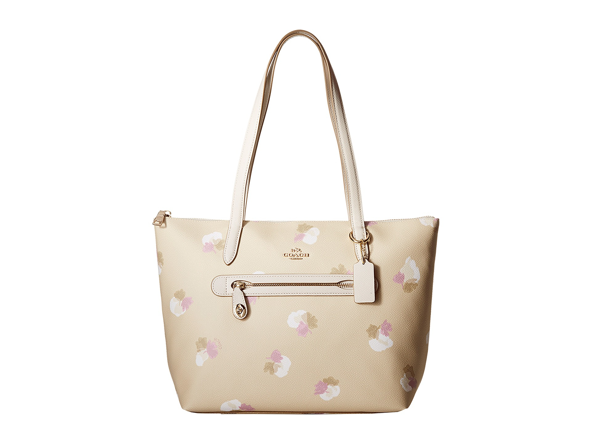 6efb1132d05a1 ... best greece lyst coach whls floral printed taylor tote in natural 7d7e6  d4048 c9a33 52a83