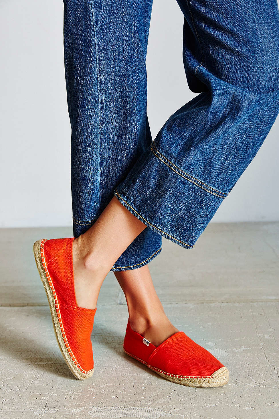 9acad724ac33 Soludos Dali Espadrille Slip-on Shoe in Red - Lyst