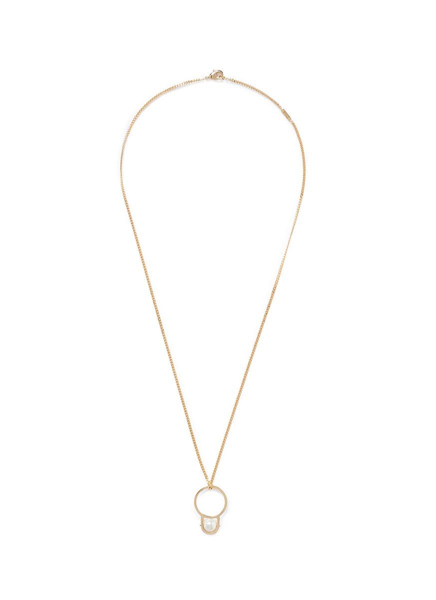 Nicol necklace - Metallic Chlo 3BBMDcr