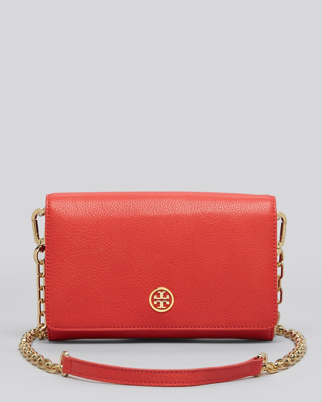 8811a21f7577 buy tory burch robinson chain wallet red 2ae8b aa31b
