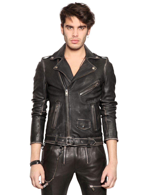Diesel leather jackets for men