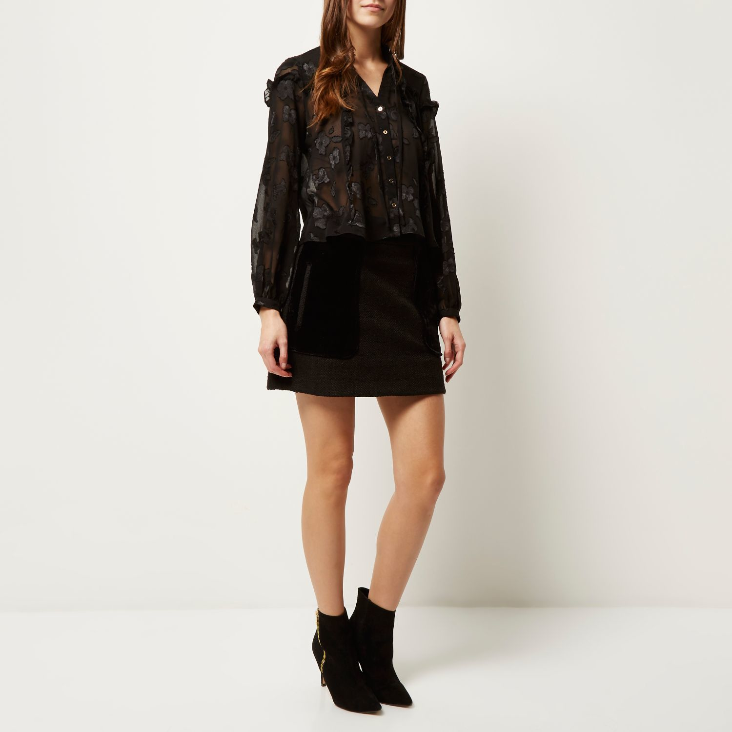 Frilly Blouses River Island