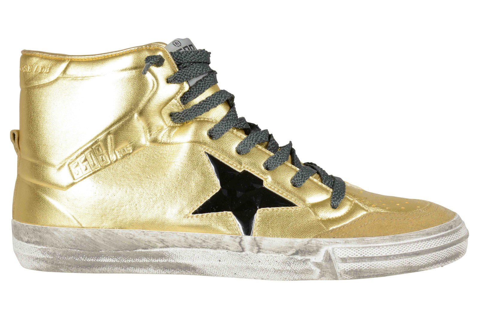 golden goose deluxe brand sneakers donna oro in gold lyst. Black Bedroom Furniture Sets. Home Design Ideas