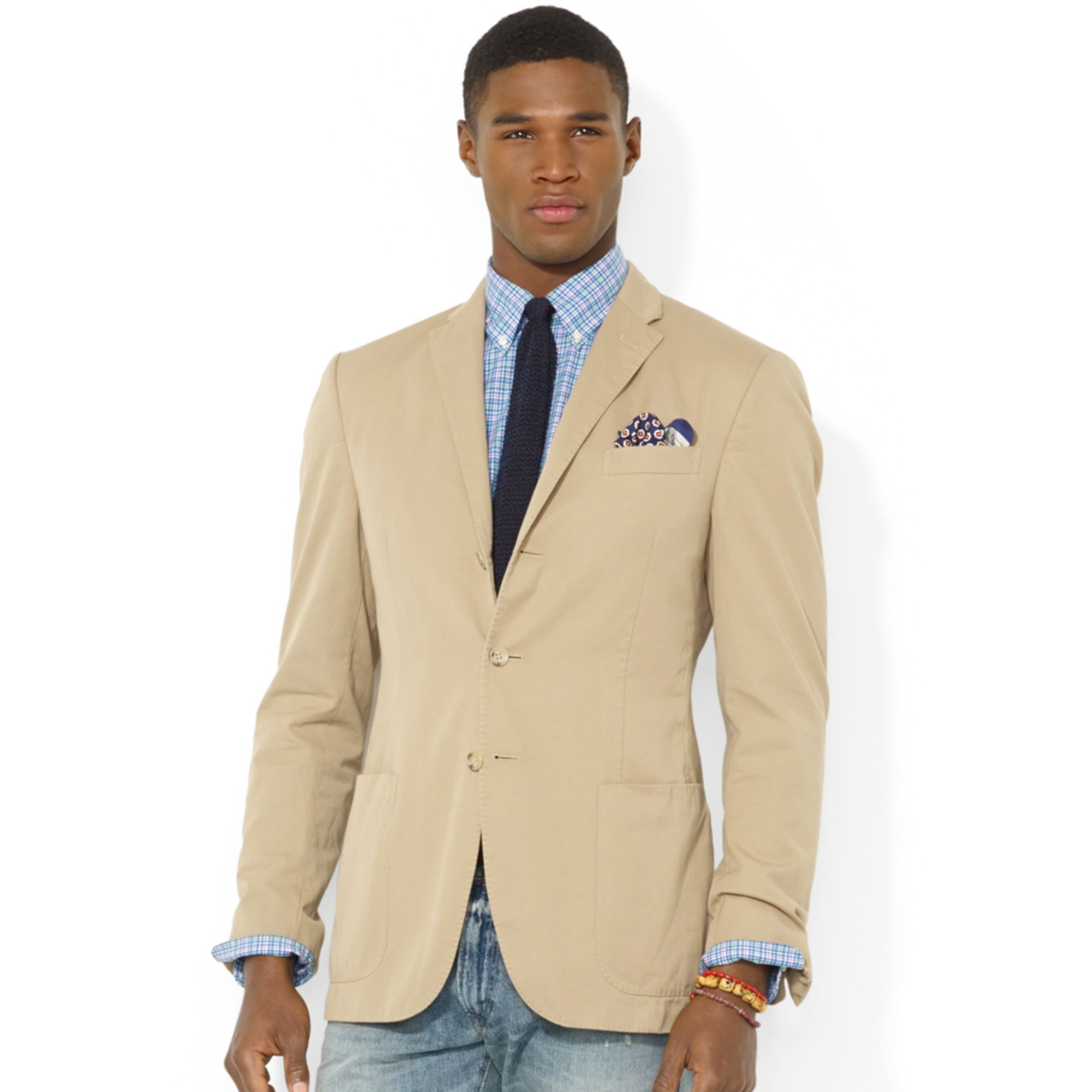 Polo ralph lauren Polo Hampton Chino Sport Coat in Natural for Men
