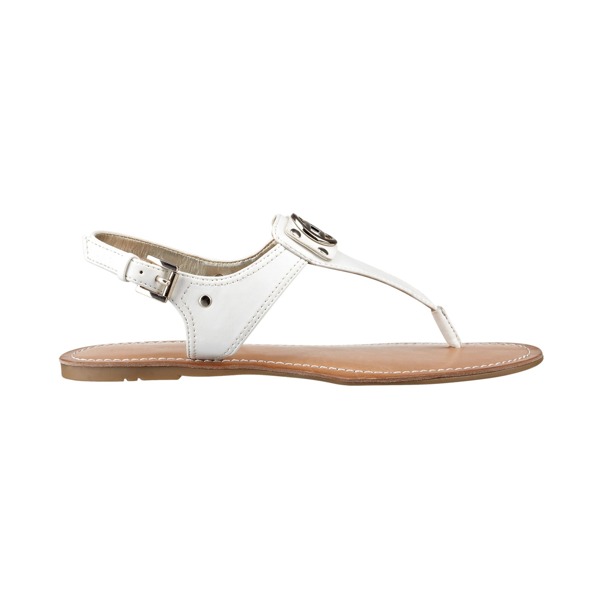 c8099d02358 Lyst - Tommy Hilfiger Womens Lolita Thong Sandals in White