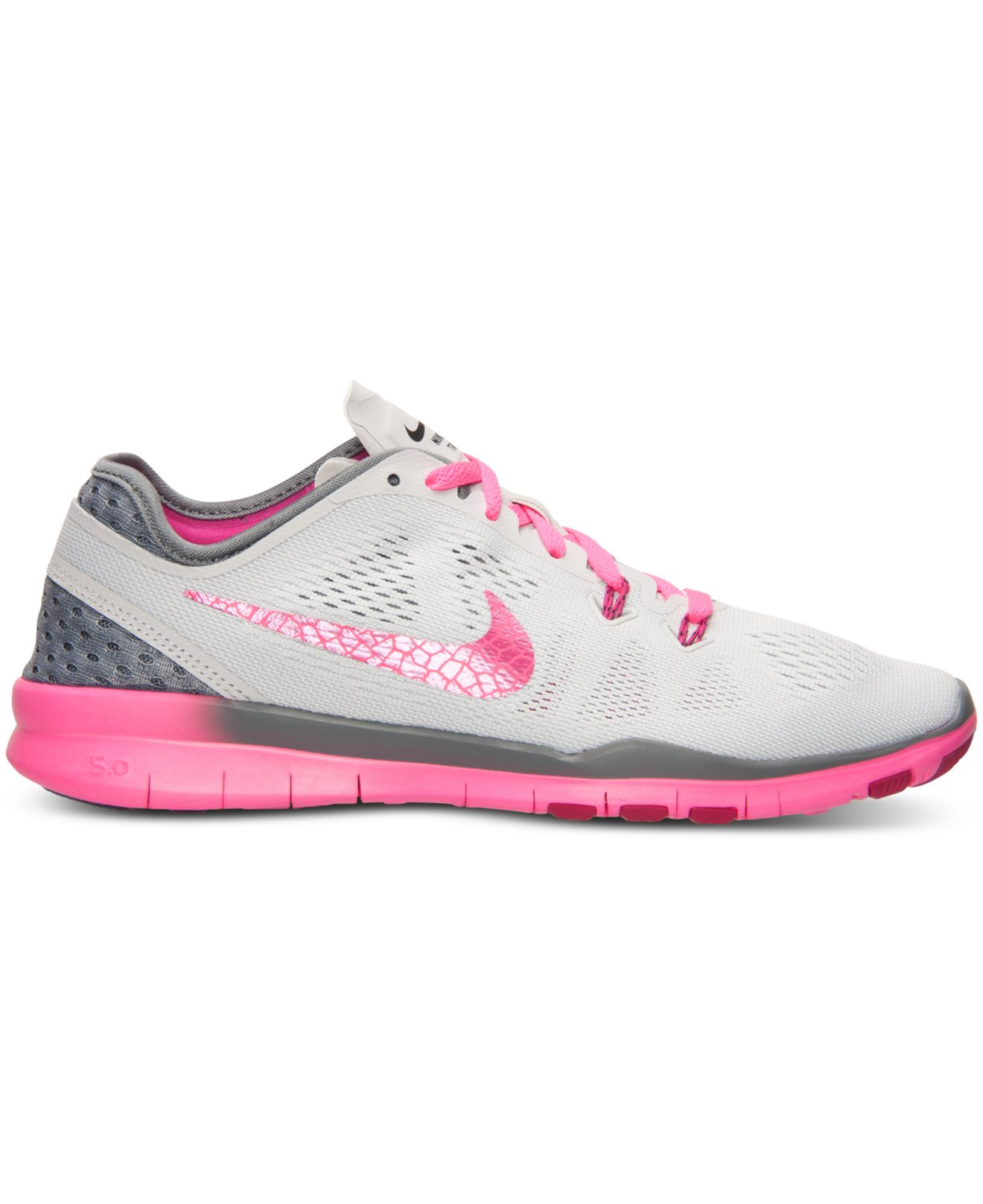 nike womens free 5.0 tr fit 5 breathe training sneakers from finish line