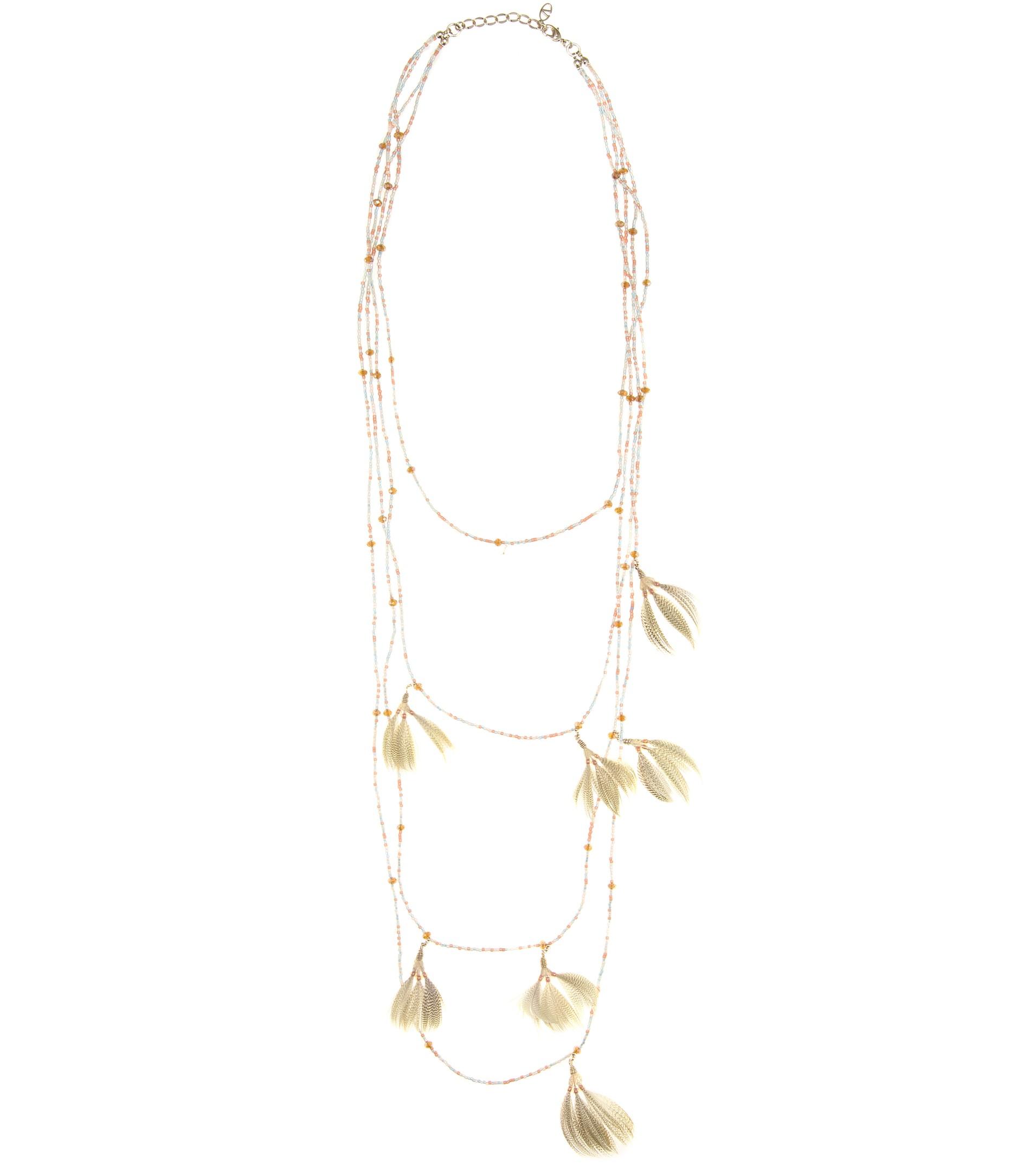 Valentino Bead-embellished necklace mjmjRA7
