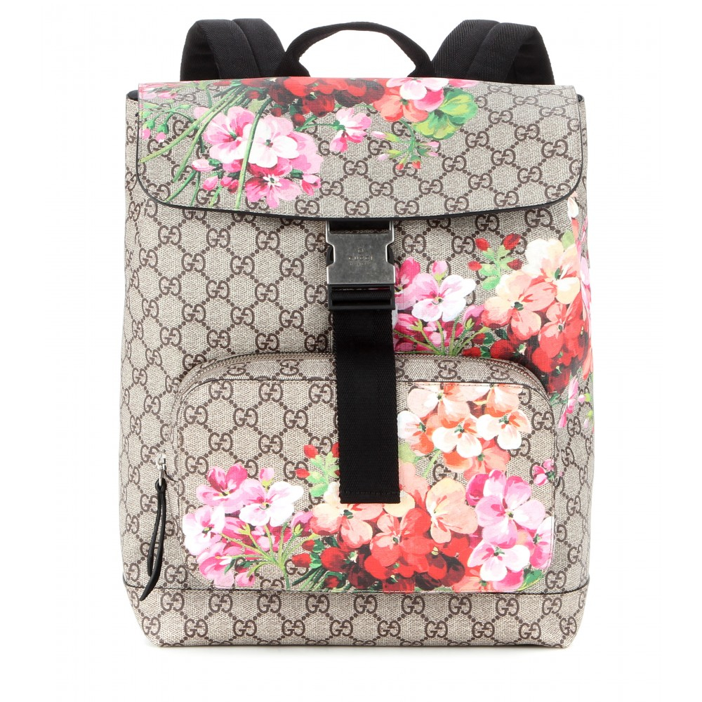 e4ba39acf18 Gucci Gg Blooms Printed Canvas Backpack - Lyst