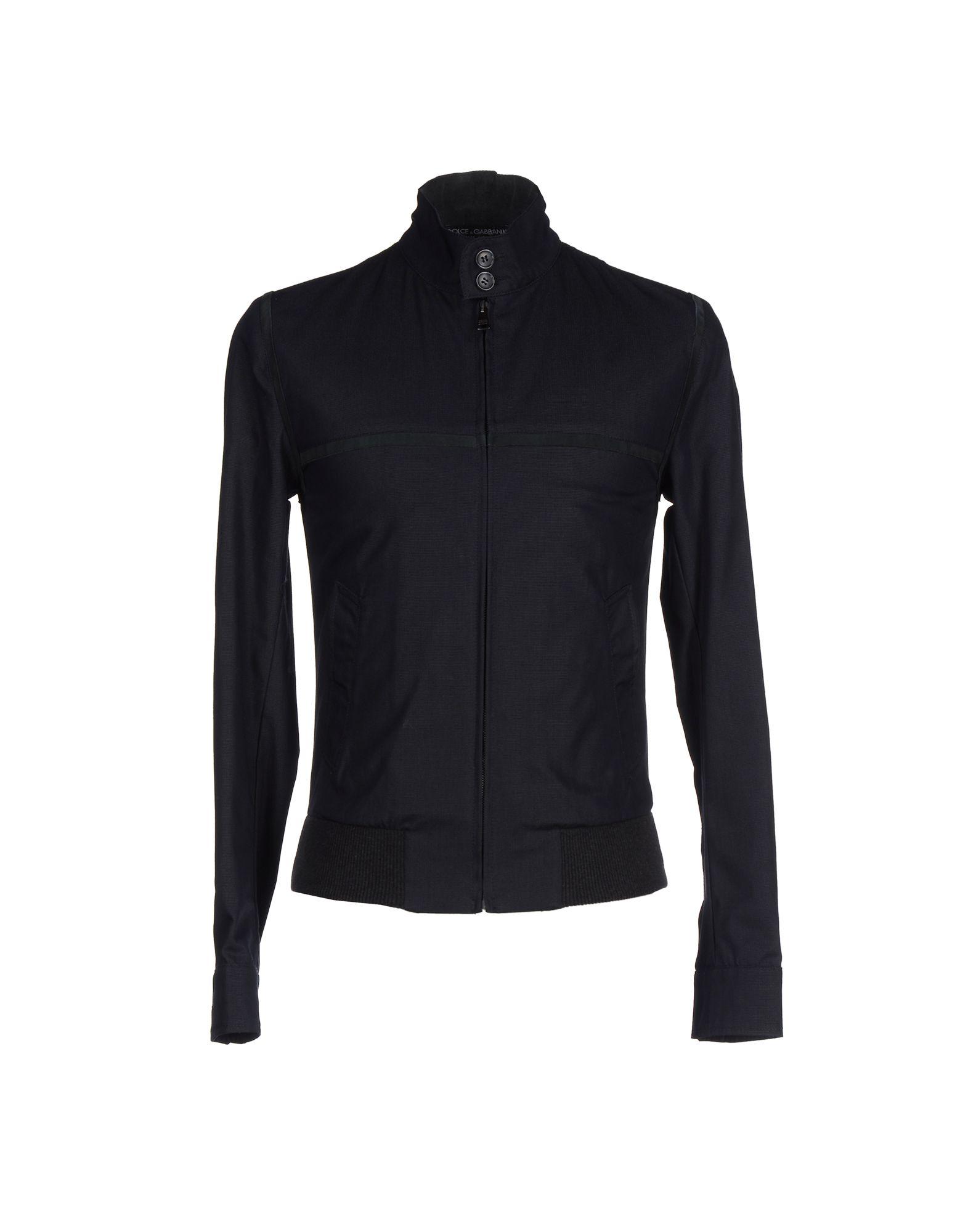 lyst dolce gabbana jacket in blue for men. Black Bedroom Furniture Sets. Home Design Ideas