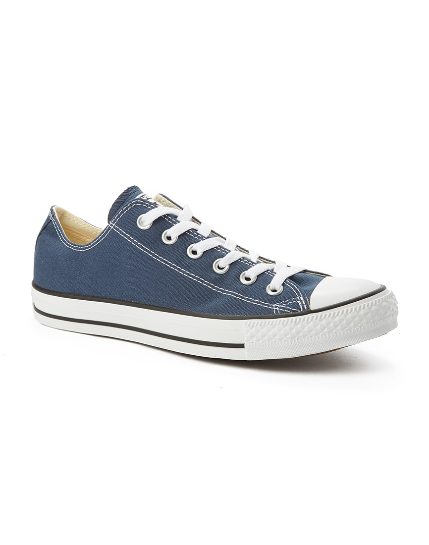 converse chuck taylor all star plimsolls in blue for men lyst. Black Bedroom Furniture Sets. Home Design Ideas