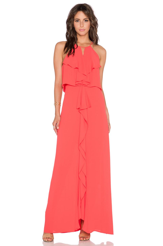 b27436f11803 BCBGMAXAZRIA Janisa Dress in Red - Lyst
