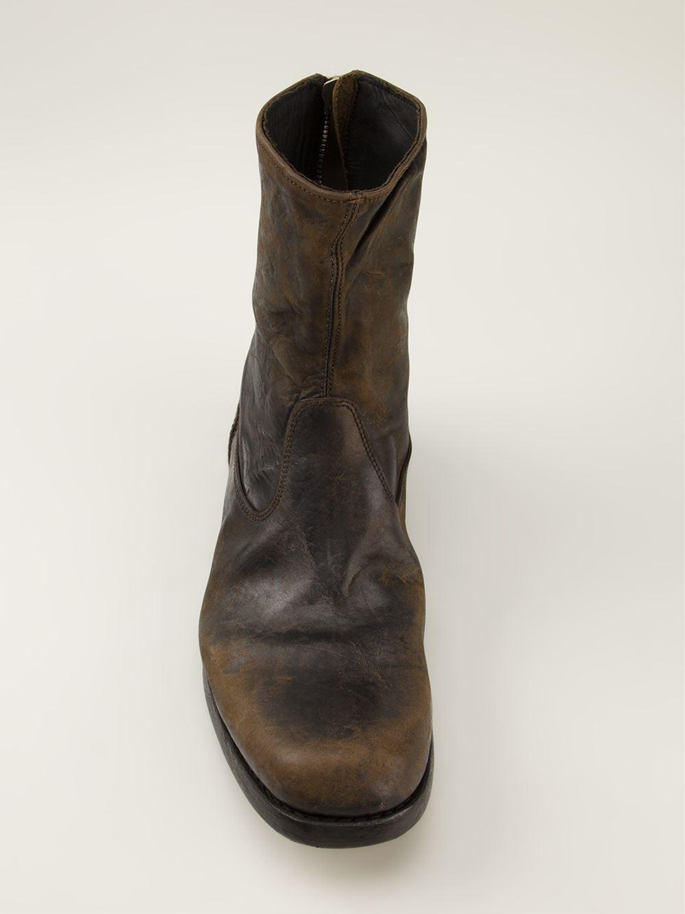 PremiataDistressed suede boots