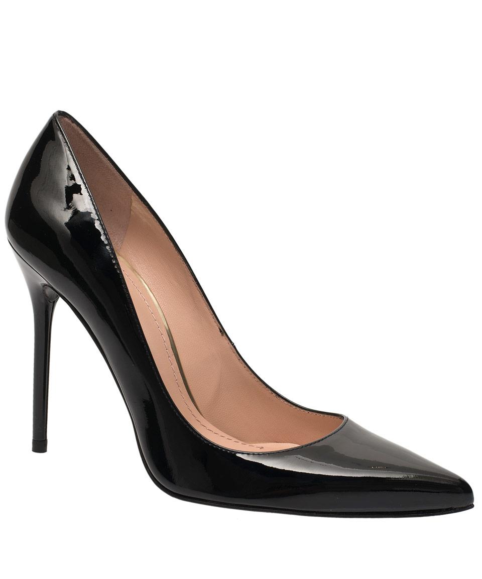 Black patent stiletto shoe job 01 3
