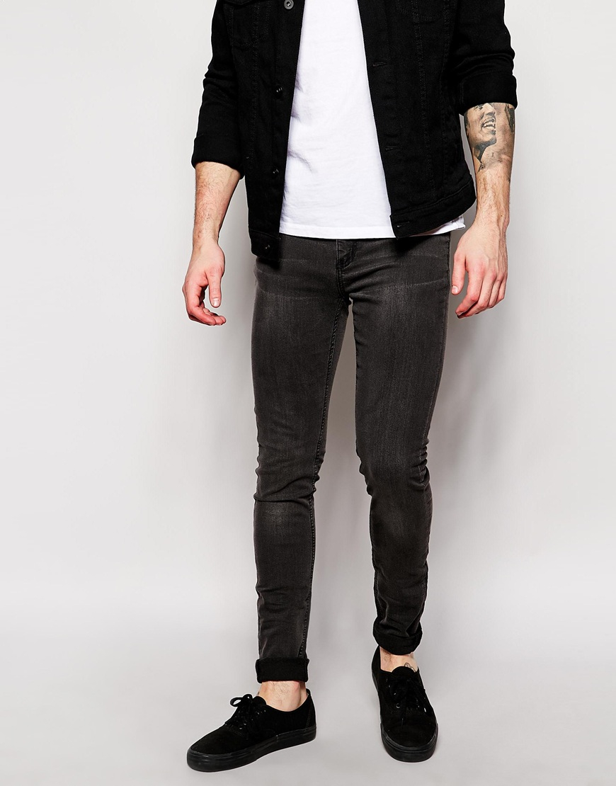 Cheap monday grey skinny jeans mens – Global fashion jeans collection