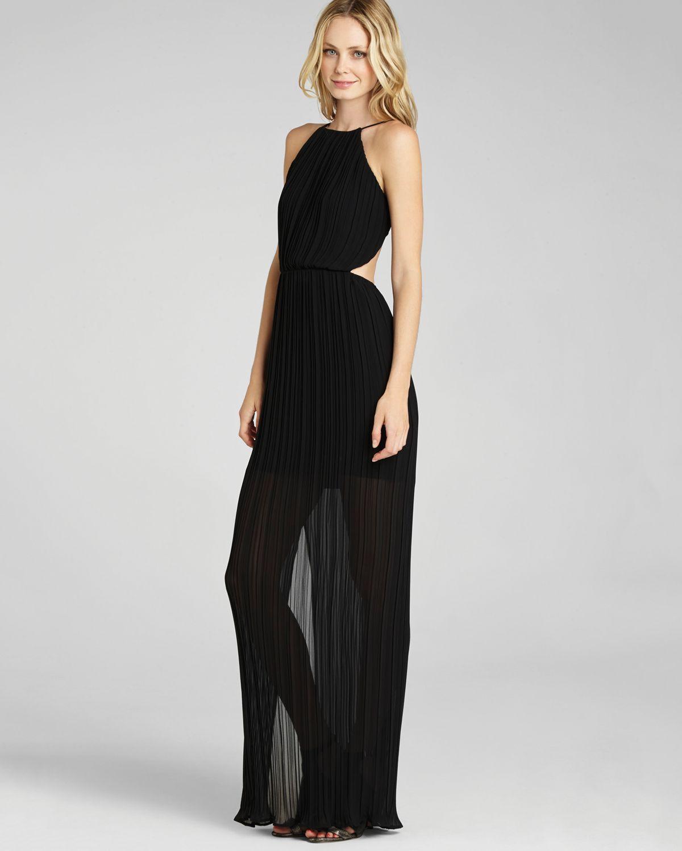 Bcbgeneration Open Back Maxi Dress In Black Lyst