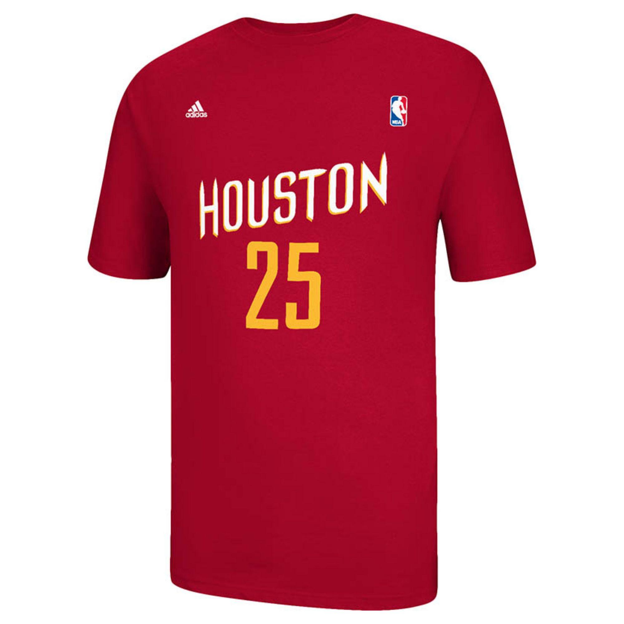Adidas Men 39 S Short Sleeve Chandler Parsons Houston Rockets
