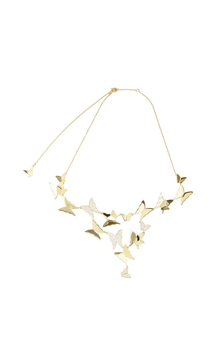 efva attling butterfly necklace