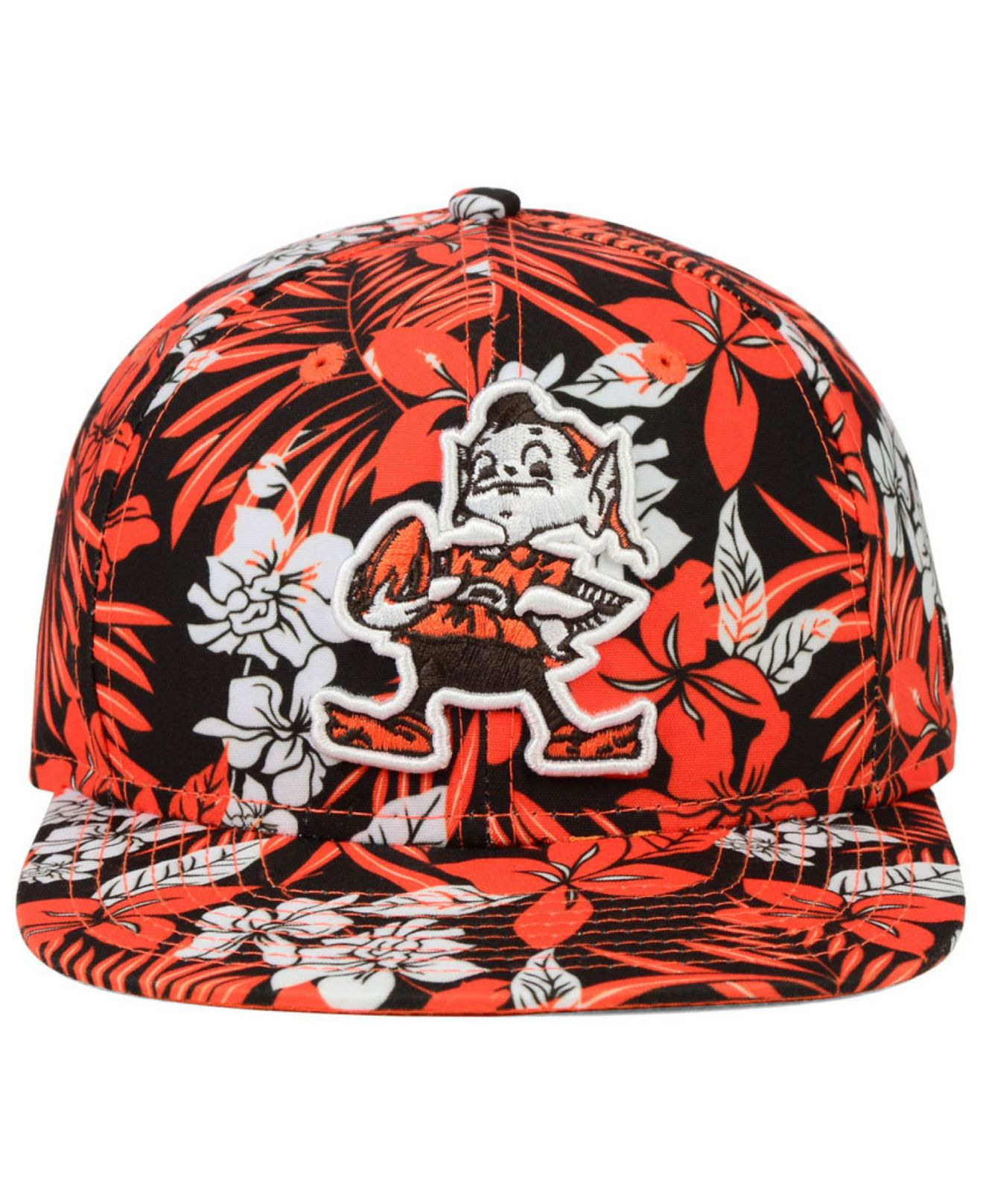 info for 47be1 047b2 Lyst - KTZ Cleveland Browns Wowie 9fifty Snapback Cap in Orange for Men