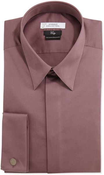 Men 39 s french cuff dress shirts memes for Purple french cuff dress shirt