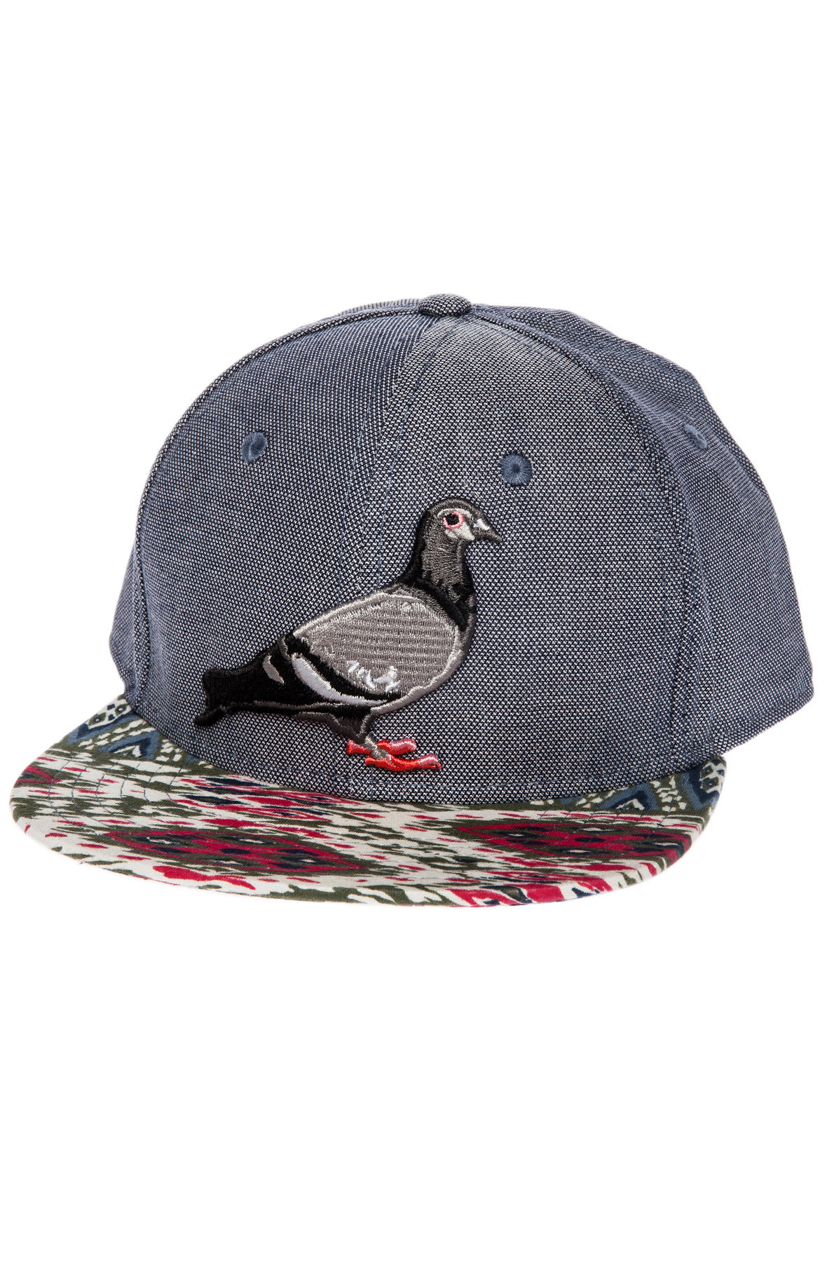 b577ed9fa2d29 Lyst - Staple The Asante Pigeon Snapback Hat in Blue for Men