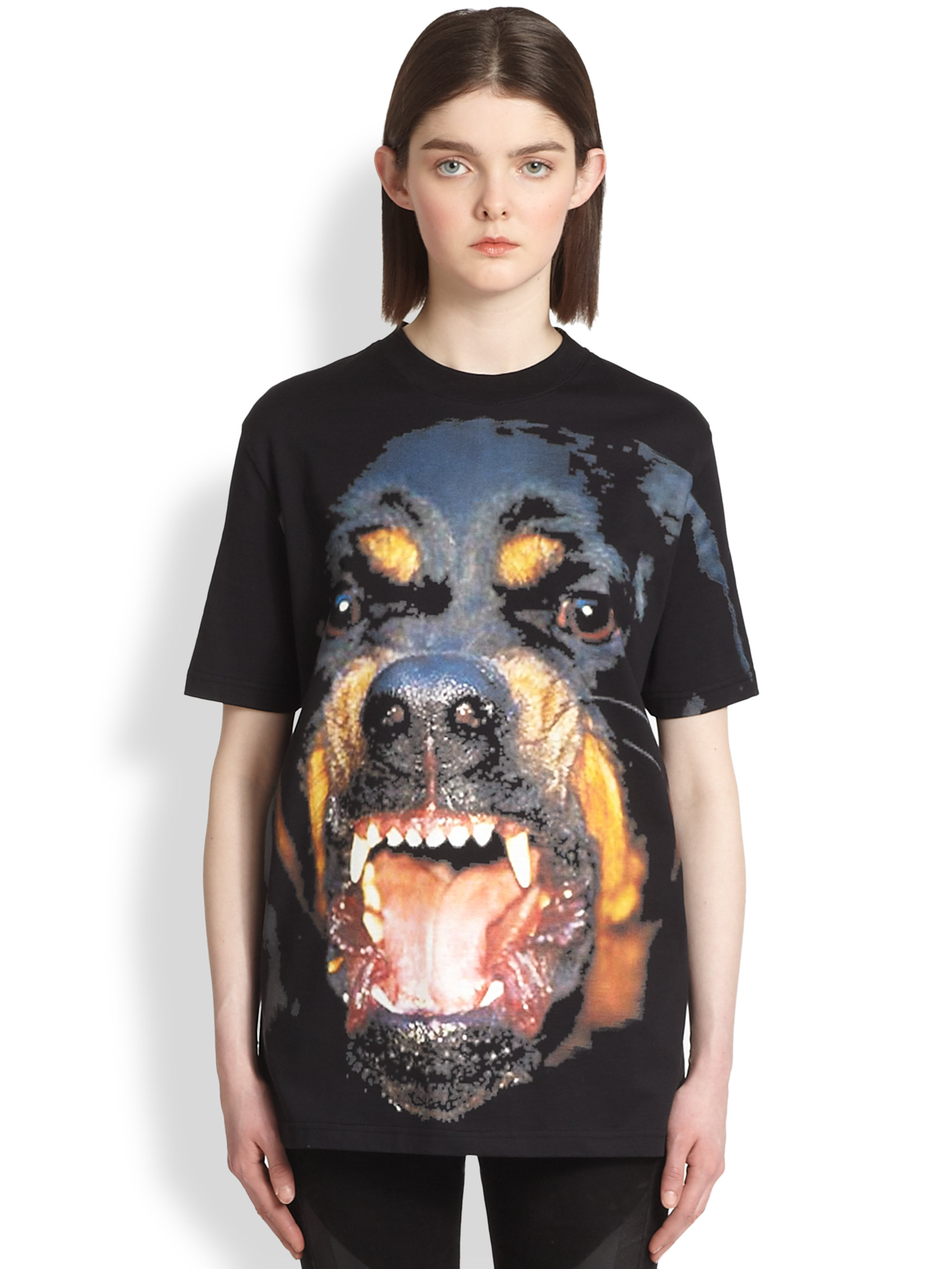 Givenchy Mens Rottweiler Tee