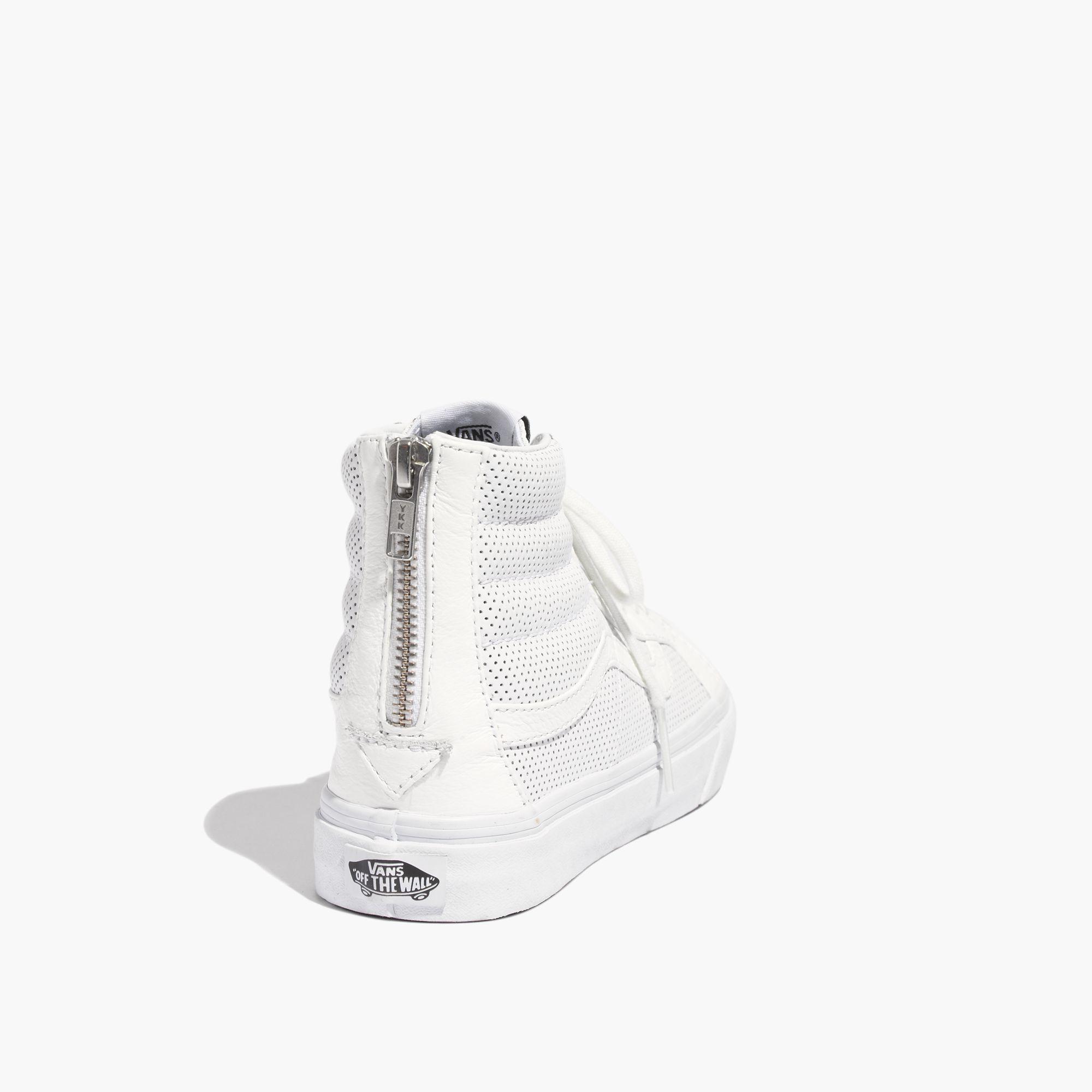 Lyst - Madewell Vans® Sk8-Hi Slim Zip High-Top Sneakers In ... a00efb89e