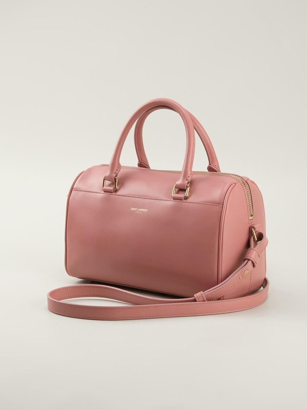 acd71e5b5c Lyst - Saint laurent Duffle Cross Body Bag in Pink