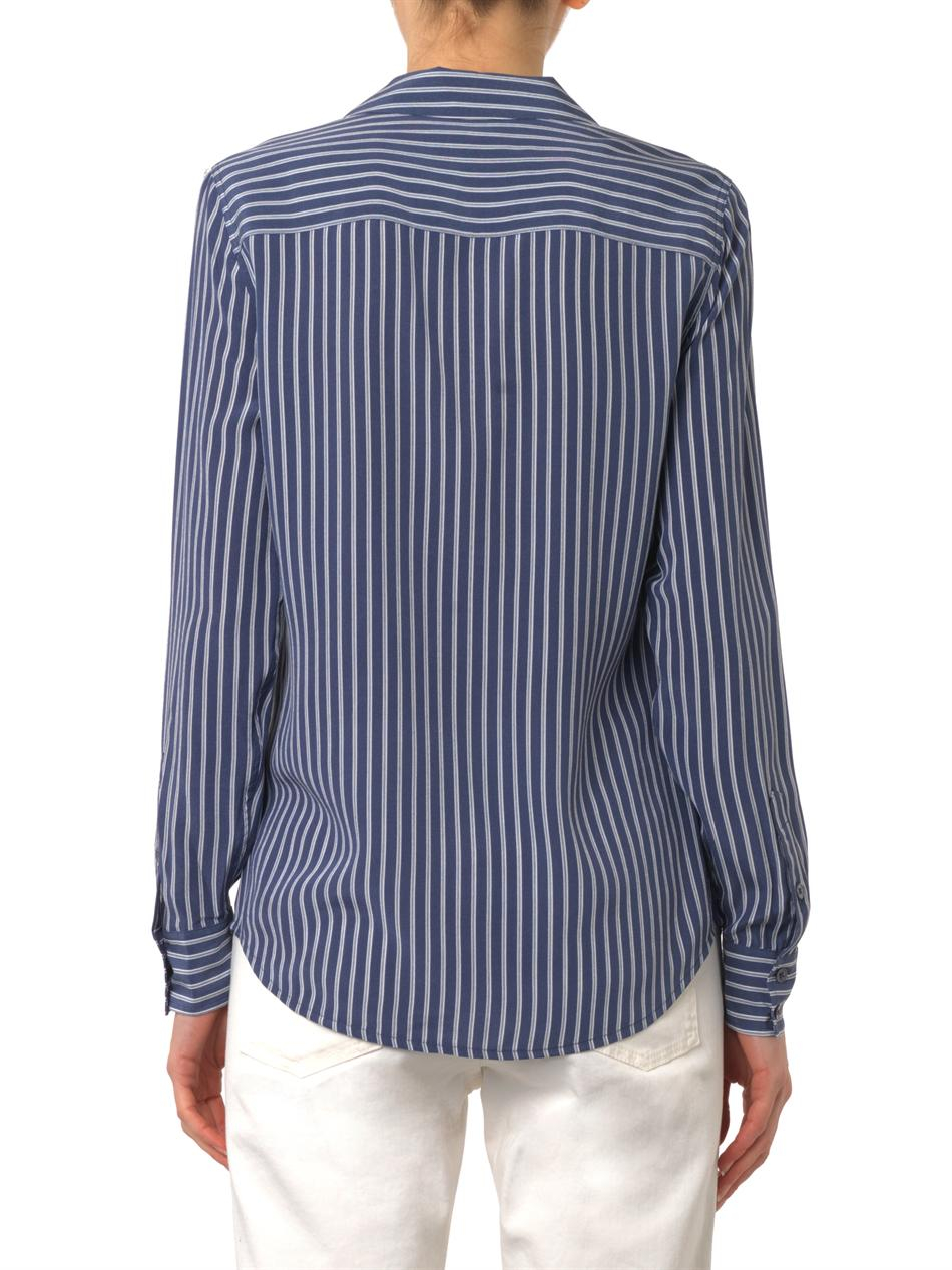 Cheap Price Low Shipping Fee 2018 New Online striped long-sleeved shirt - Blue Equipment Sale Eastbay For Sale Free Shipping With Credit Card W0HN85
