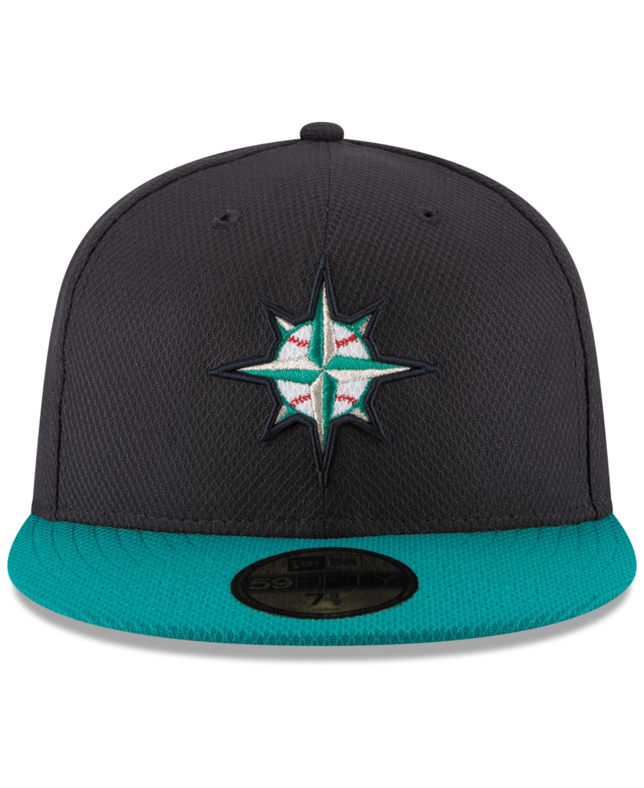 ... where can i buy lyst ktz seattle mariners diamond era 59fifty cap in  blue for men a1f5136c5f85