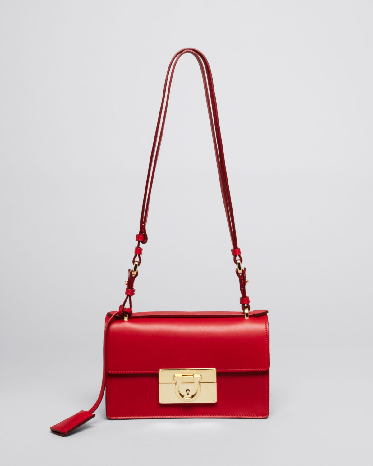 Ferragamo Shoulder Bag - Aileen Mini in Red | Lyst