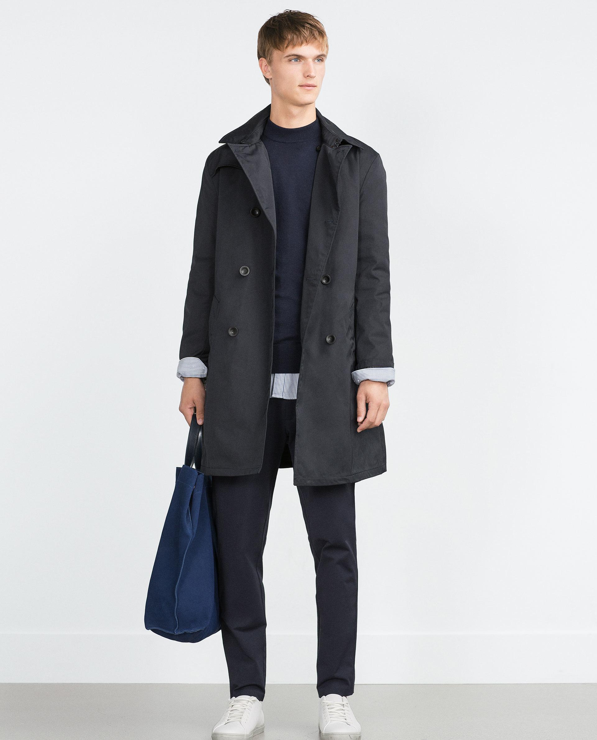 Zara parka with detachable lining