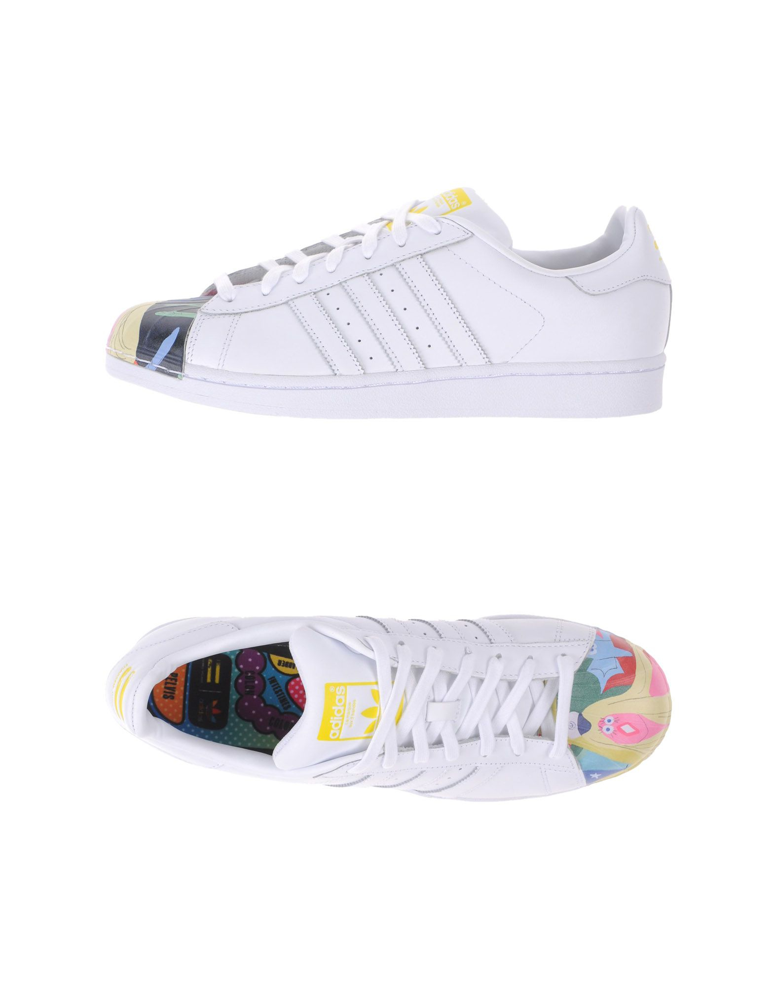 adidas low tops trainers in white for lyst
