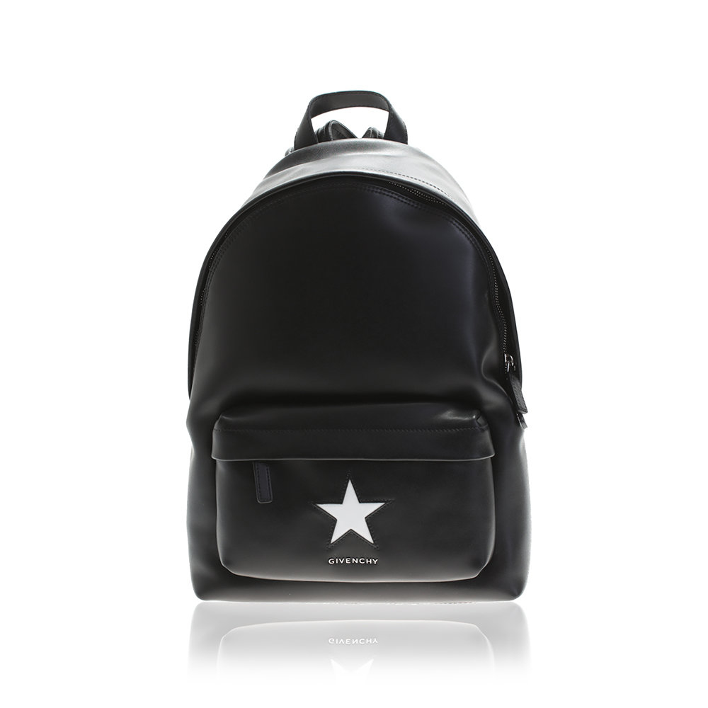 11a5f7ed9cf4 Lyst - Givenchy Black Star Small Leather Backpack in Black