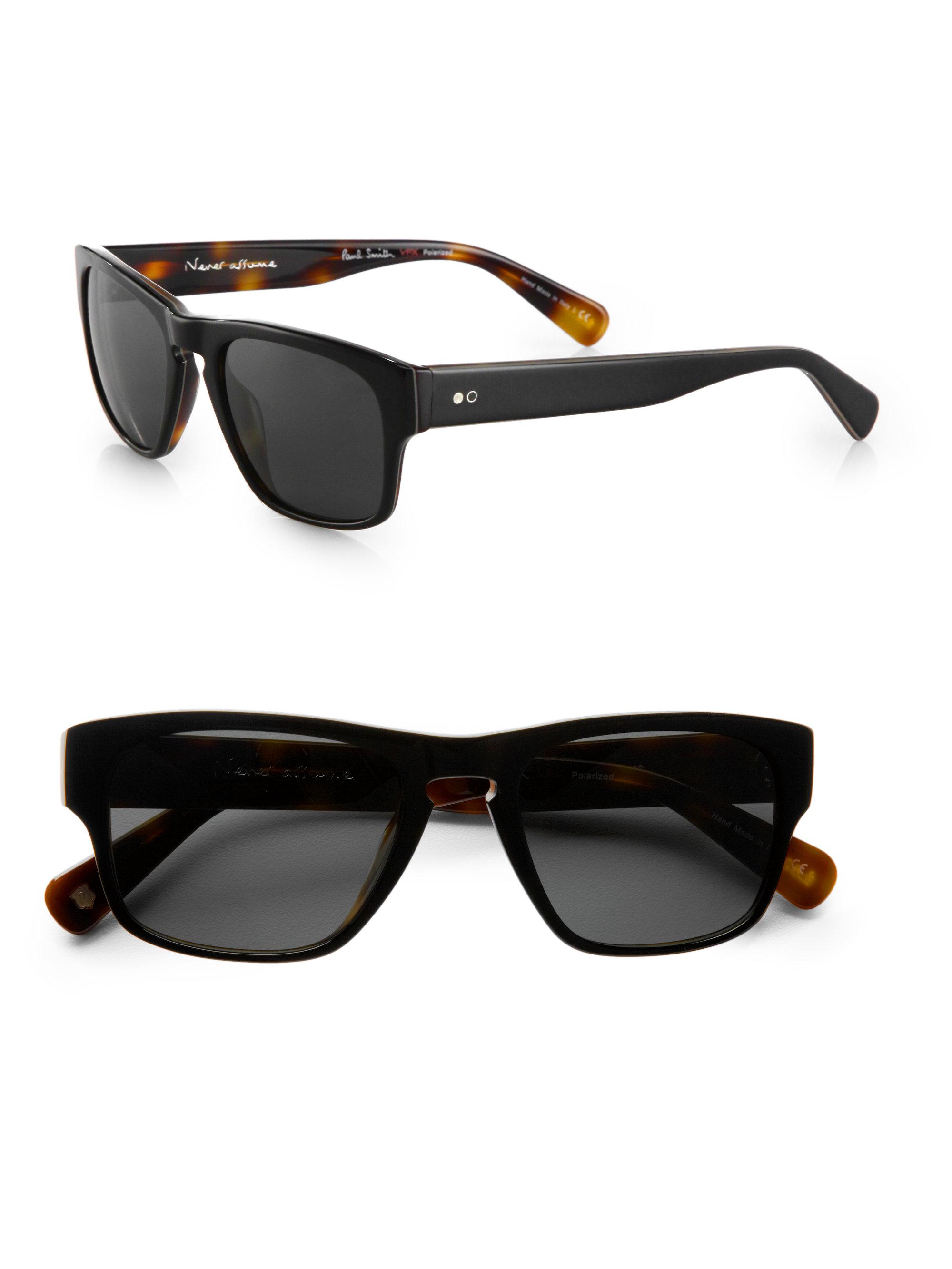99e5aa021a9 Paul smith Sylus Acetate Sunglasses in Black for Men