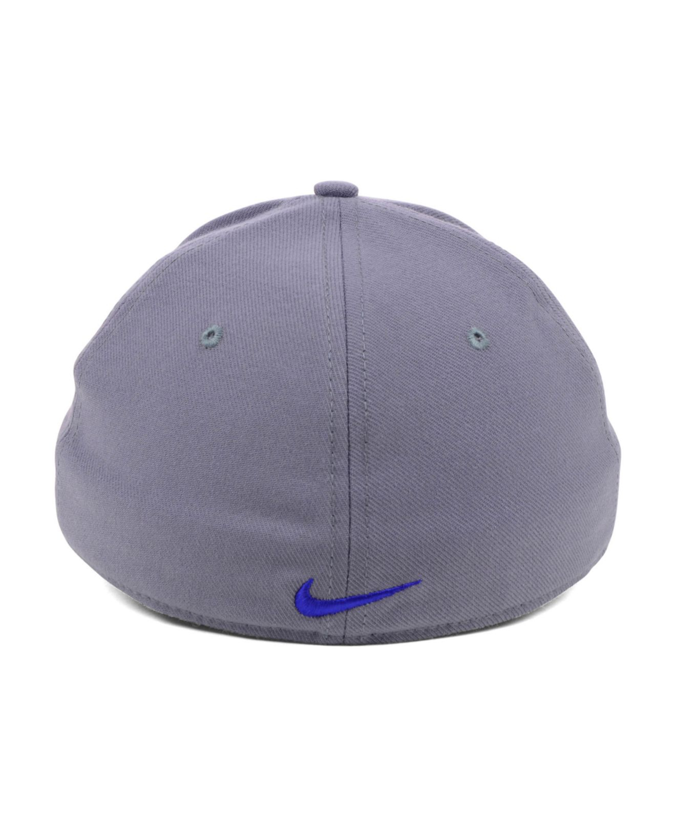 c362fa36 ... uk lyst nike chicago cubs drifit swooshflex cap in gray for men 4f3f2  019e5