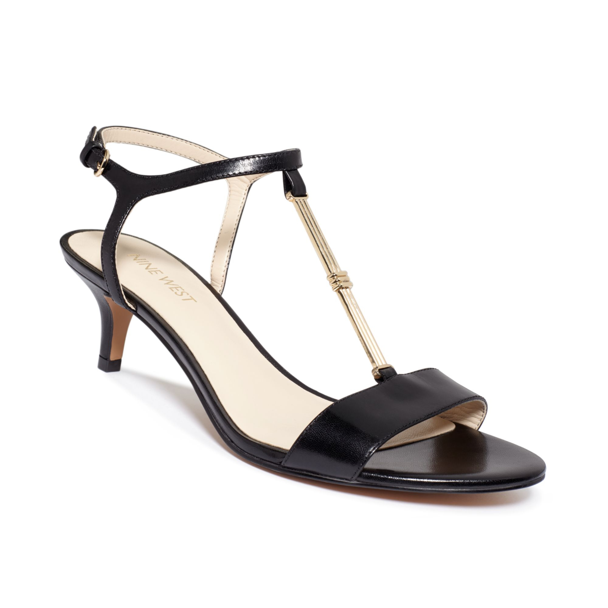 Shop black kitten heel shoes at Neiman Marcus, where you will find free shipping on the latest in fashion from top designers.