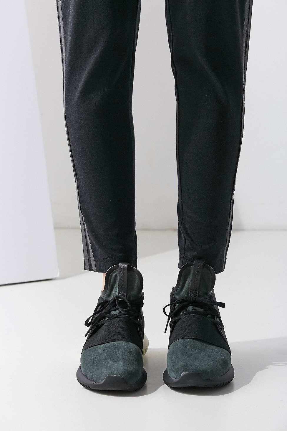Lyst - adidas Originals Tubular Defiant Low-Top Sneakers in Black db7b45c2e
